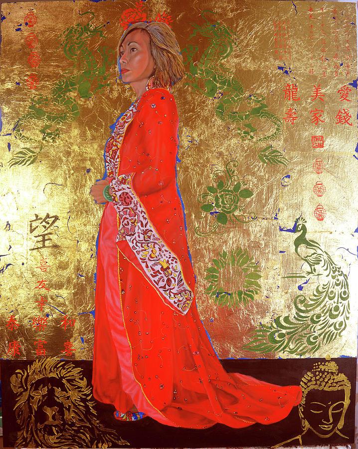 Raise the red lantern by Thu Nguyen