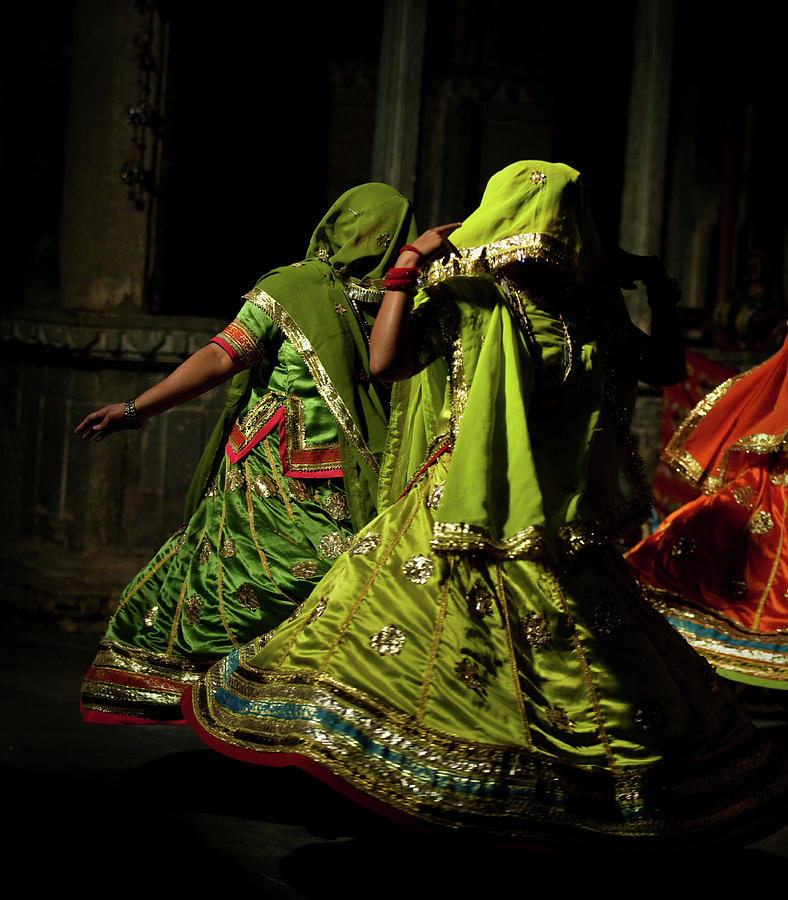 Rajasthani Dancers Photograph by Julien Lagarde