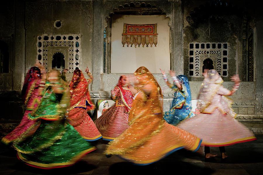 Rajasthani Dances Photograph by Ania Blazejewska