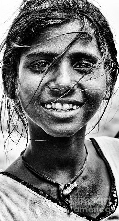 Rajasthani Street Girl by Tim Gainey