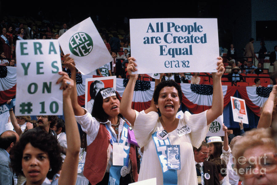 Rally Supporting Equal Rights Amendment Photograph by Bettmann