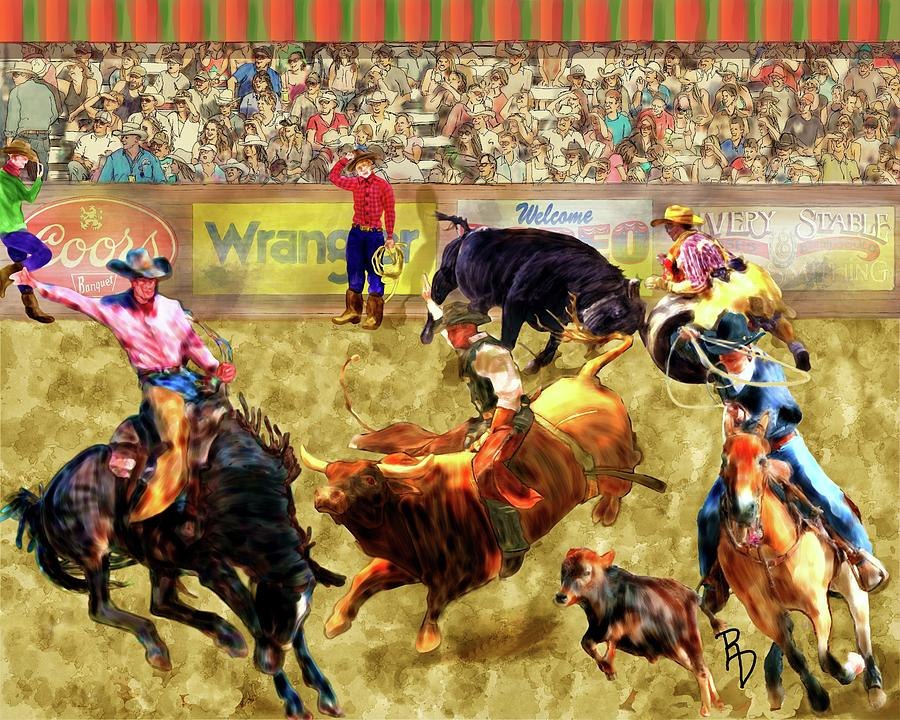 Rambunctious Rodeo by Ric Darrell