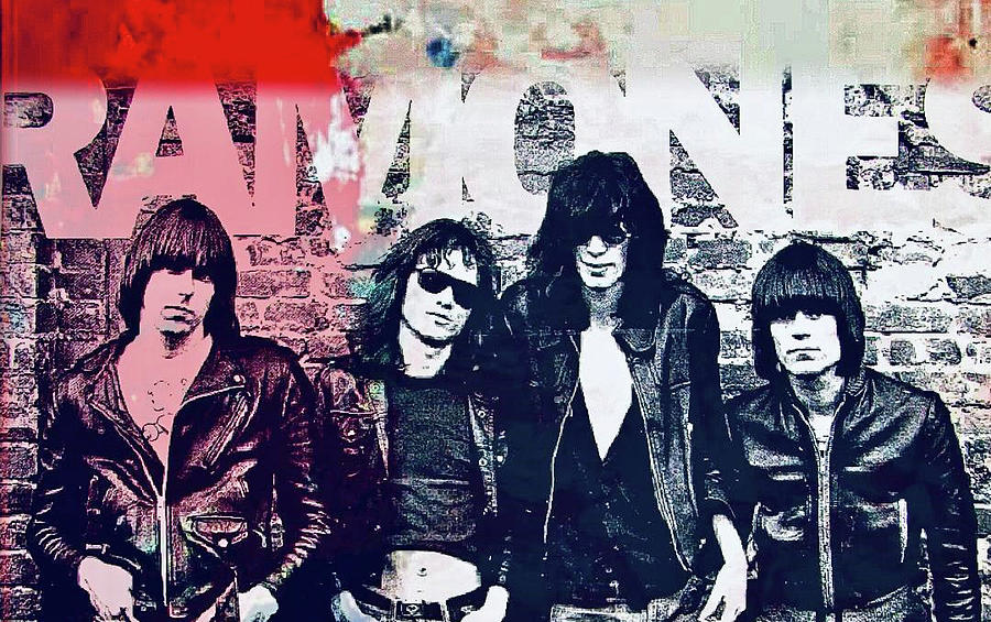 Ramones by Jayime Jean
