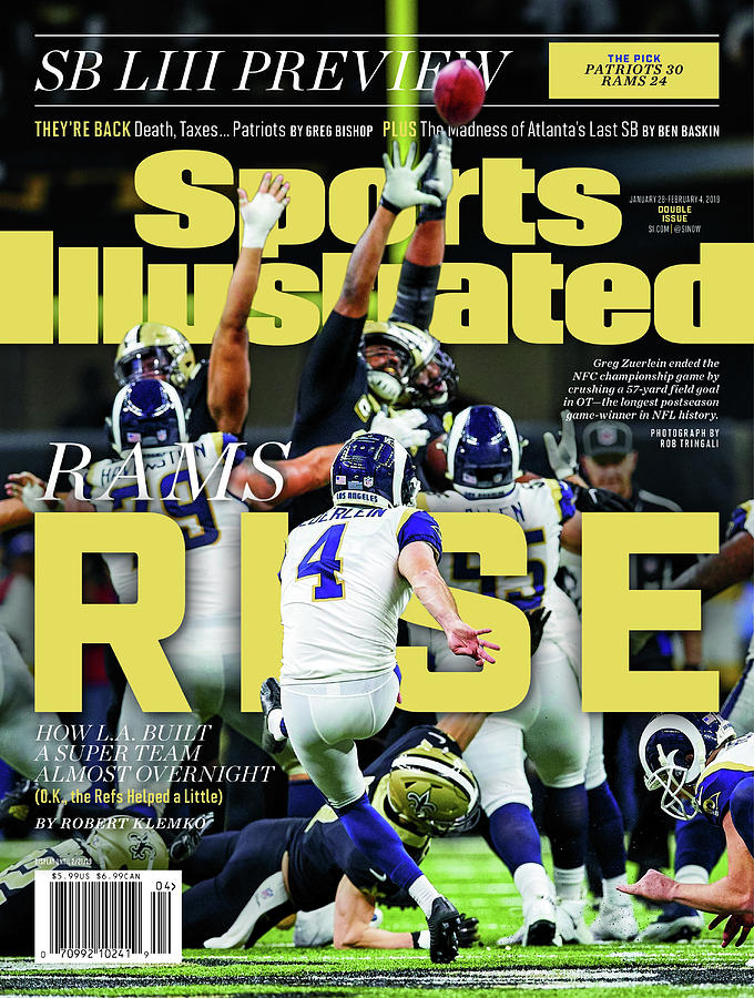 Rams Rise How L.a. Built A Super Team Almost Overnight Sports Illustrated Cover Photograph by Sports Illustrated