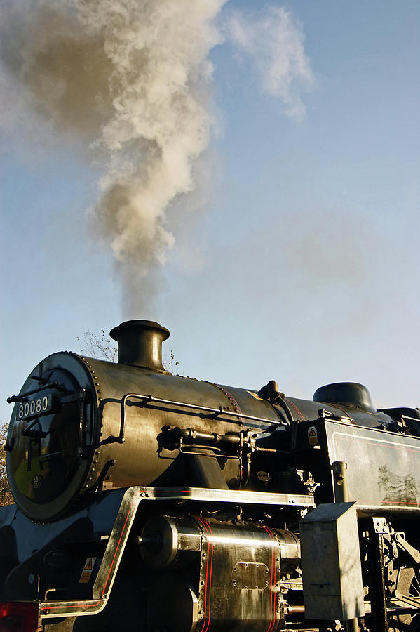 RAMSBOTTOM. East Lancashire Railway. Locomotive 80080. by Lachlan Main