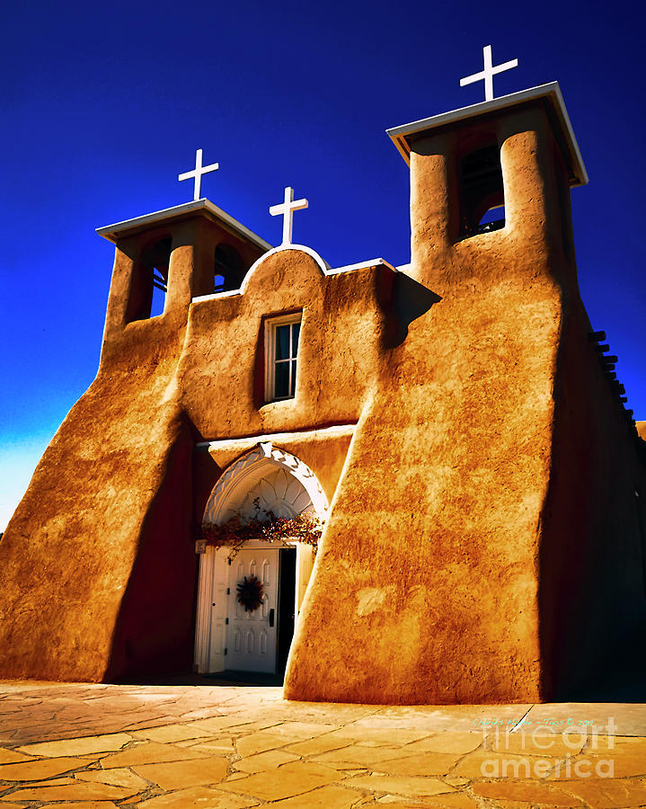 Ranchos Church  XXXII by Charles Muhle