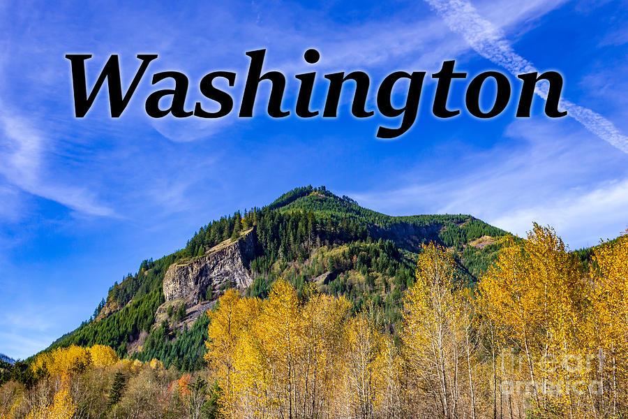 Randle Photograph - Randle Washington in Fall by G Matthew Laughton