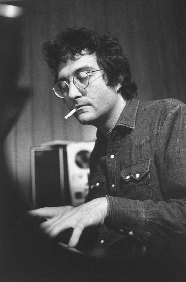 Randy Newman Photograph by Bill Eppridge