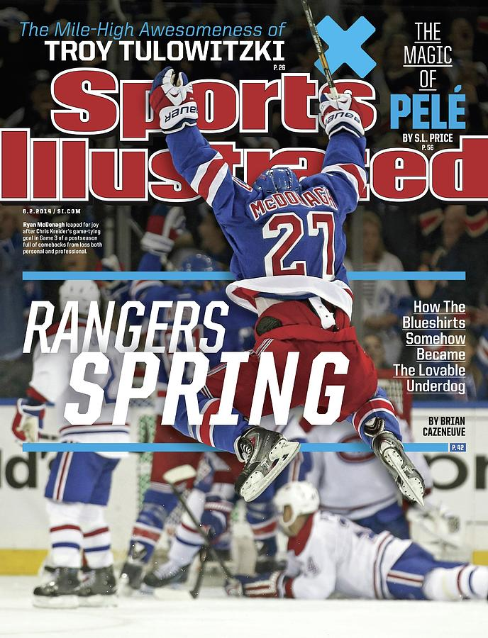 Rangers Spring How The Blueshirts Somehow Became The Sports Illustrated Cover Photograph by Sports Illustrated