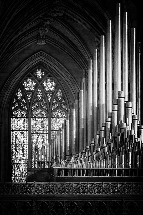 Cathedral Photograph - Ranks by Christopher Budny