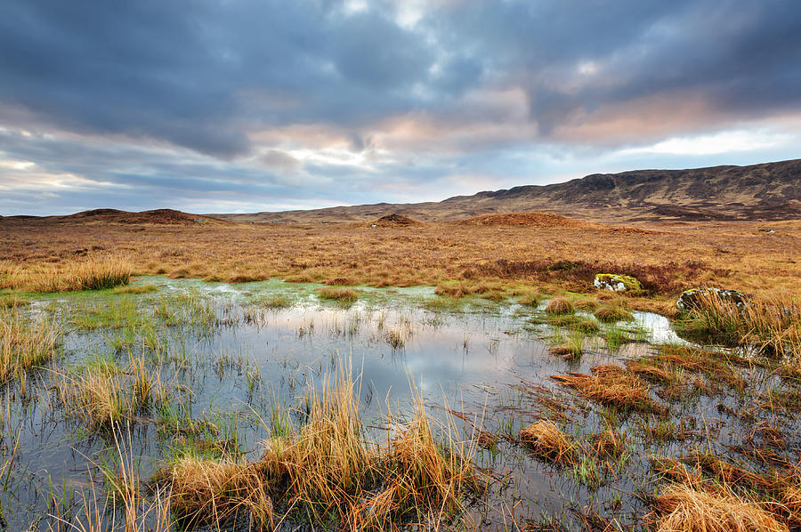Rannoch Moor, Glencoe, Scotland Photograph by Chris Hepburn