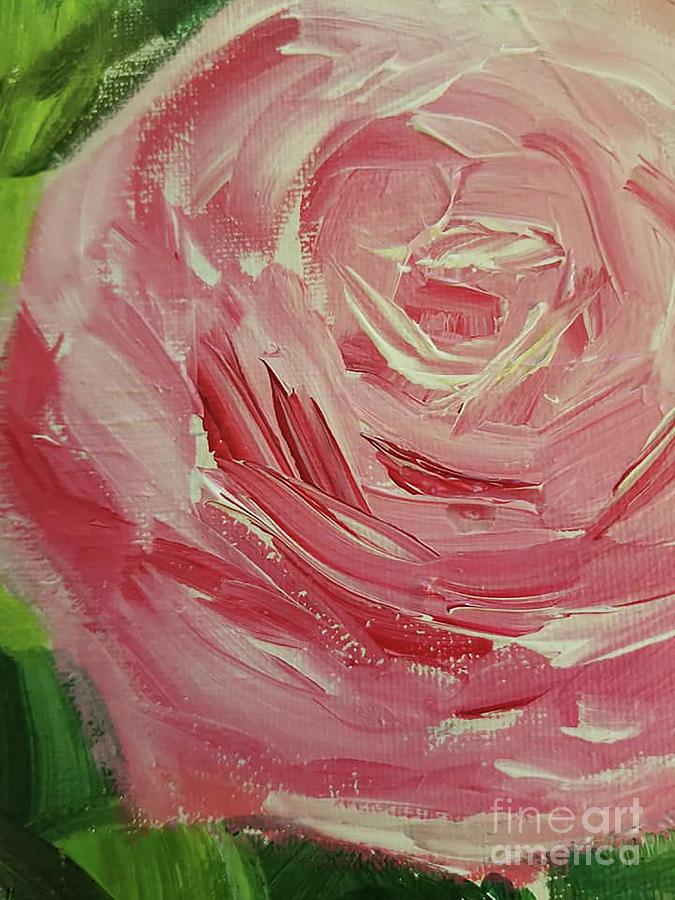 Love Painting - Ranunculus Flower  by Rose Elaine