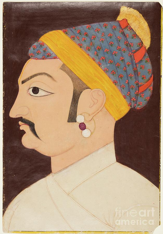 Rao Shiv Singh Chandrawat Drawing by Heritage Images