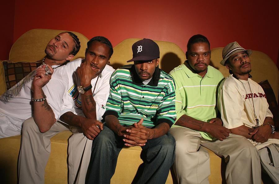 Artist Photograph - Rap Artist Bone Thugs N Harmony Portrait by Jim Steinfeldt