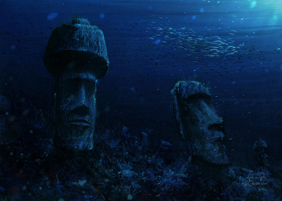 Rapa Nui 2019 Digital Art