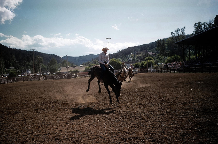 Rapid City Rodeo Photograph by Michael Ochs Archives