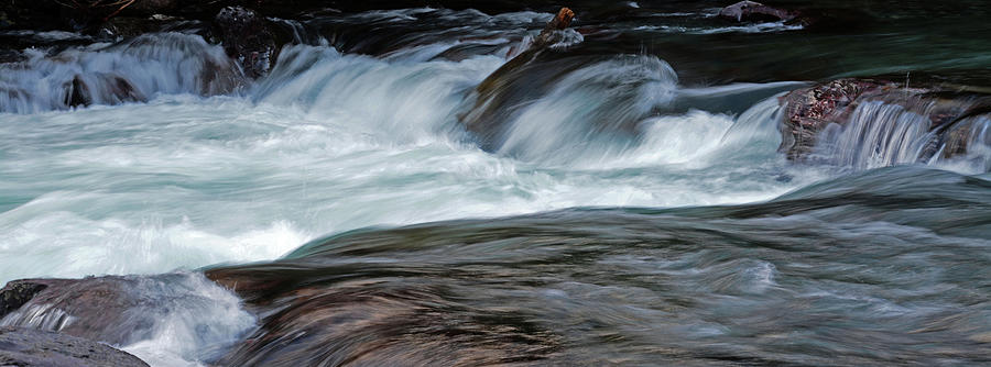 Rapids in the Stream by Whispering Peaks Photography
