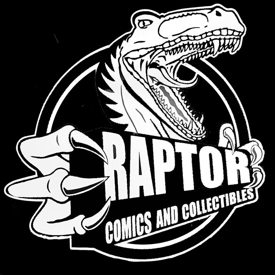 Raptor Comics Black by Walter Chamberlain