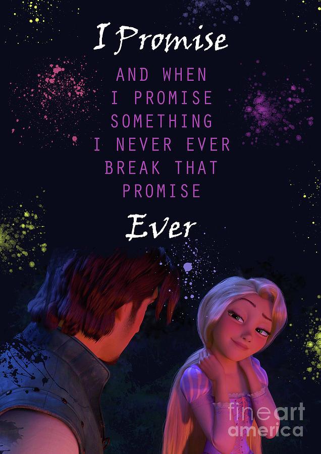 Rapunzel Love Quotes 6 Digital Art By Prar K Arts