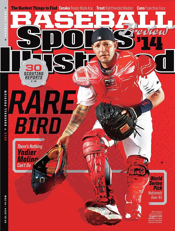Rare Bird 2014 Mlb Baseball Preview Issue Sports Illustrated Cover Photograph by Sports Illustrated
