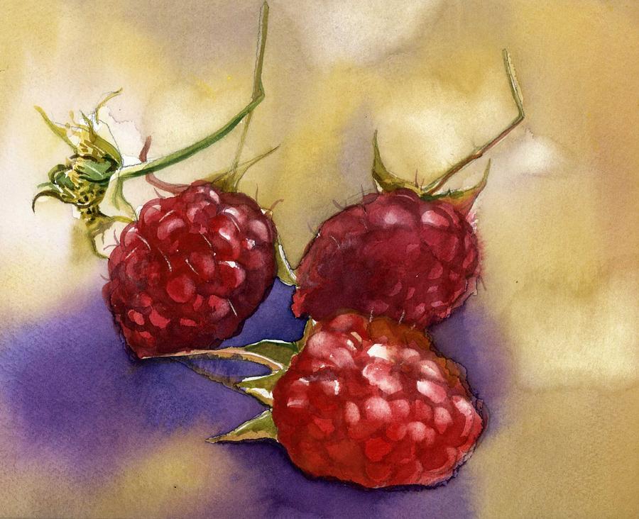 raspberries by Alfred Ng
