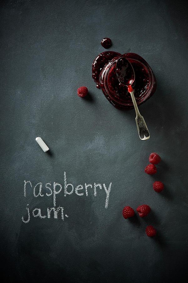 Raspberry Jam Photograph by Lew Robertson