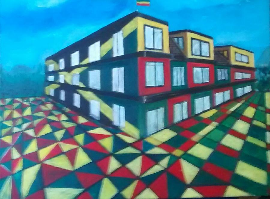 Rasta Academy Painting by Andrew Johnson