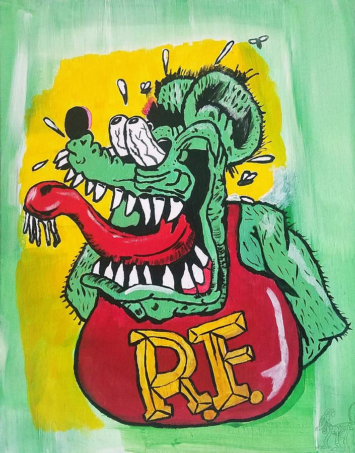 Drawing Rat Fink Art