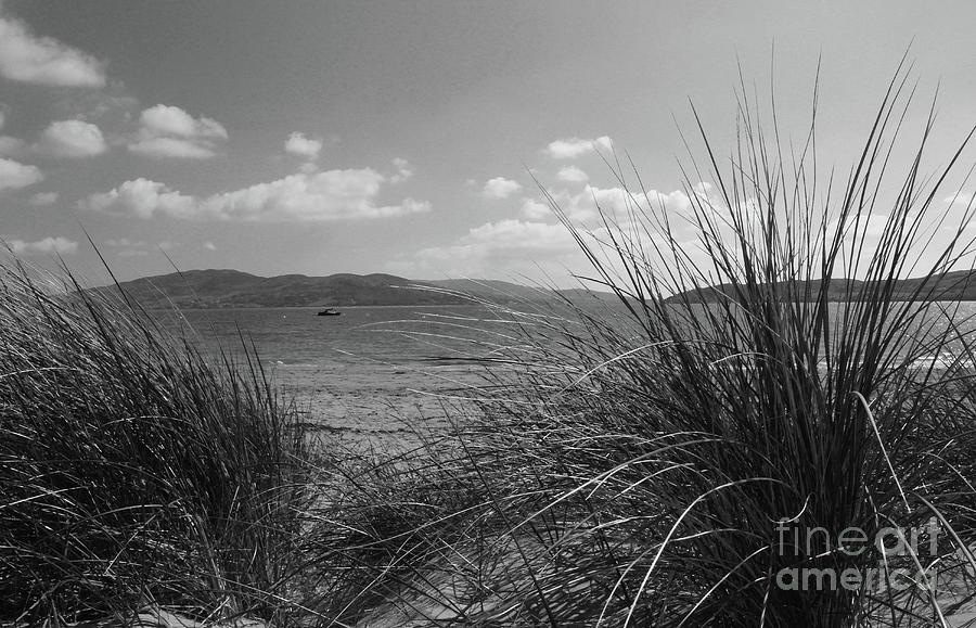 Rathmullan Beach bw Donegal by Eddie Barron