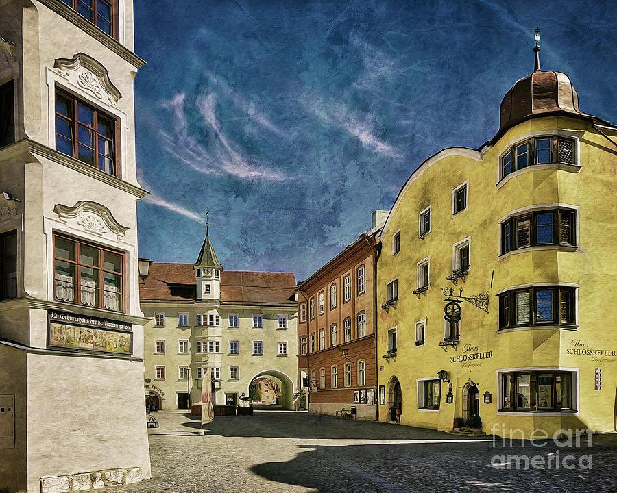 Rattenberg in Tyrol by Edmund Nagele