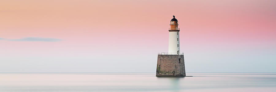 Rattray Lighthouse Sunset- Scotland by Grant Glendinning