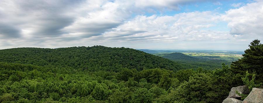 Raven Rocks Overlook Panorama by Natural Vista Photo