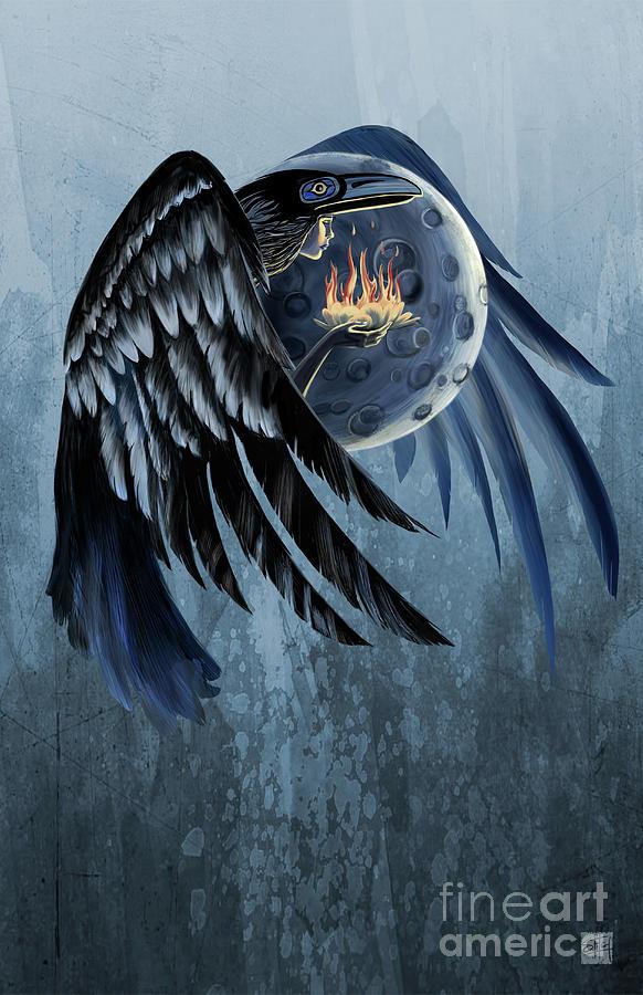 raven shaman by Sassan Filsoof