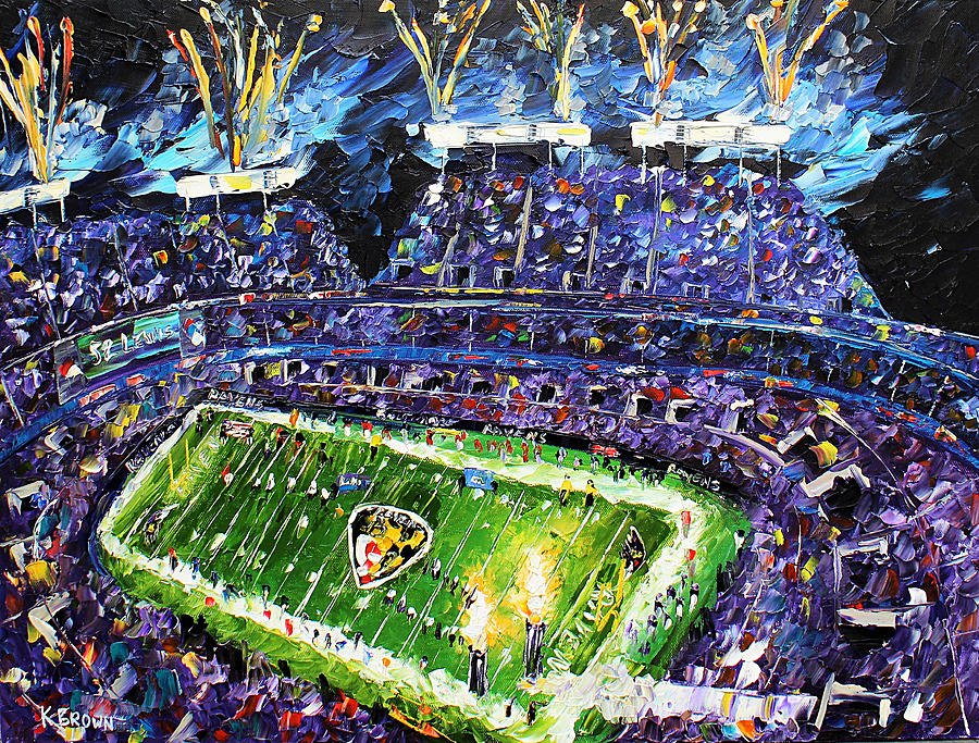 Ravens Win by Kevin Brown