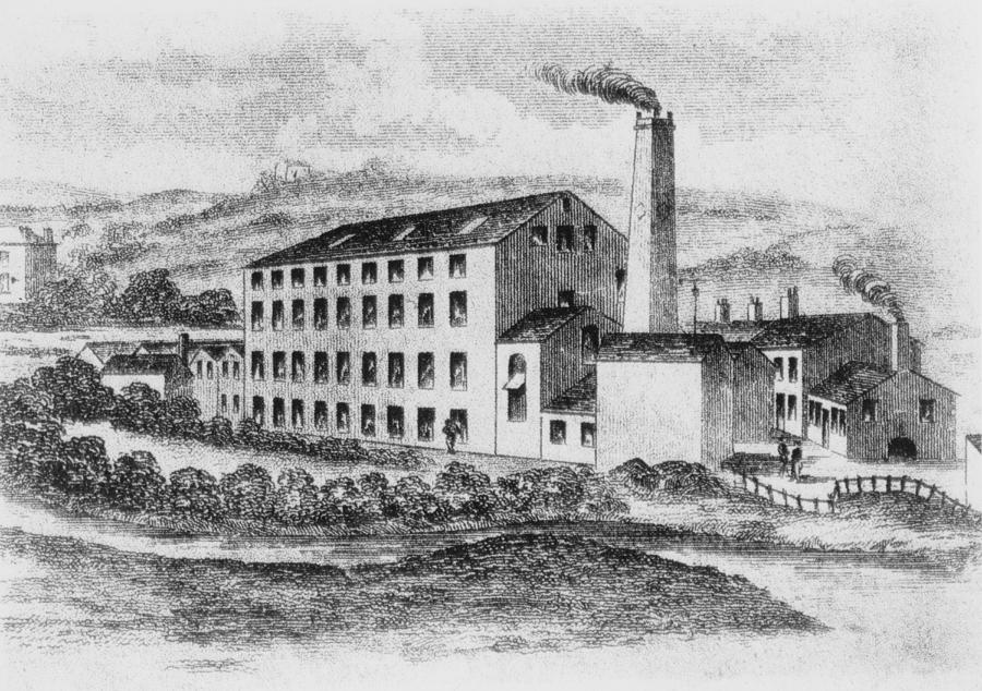 Rawfords Mill Photograph by Hulton Archive