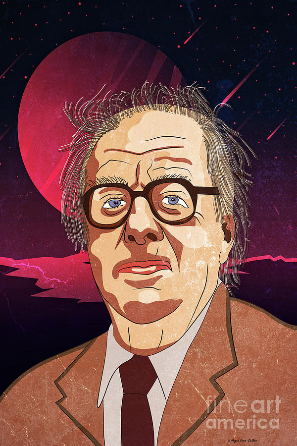 Ray Bradbury by Megan Dirsa-DuBois