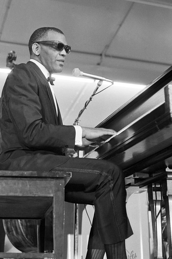 Ray Charles At Sound Blast 66 Photograph by Michael Ochs Archives