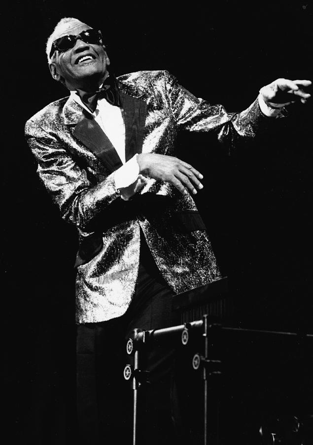 Ray Charles Dances On Stage Photograph by Hulton Archive
