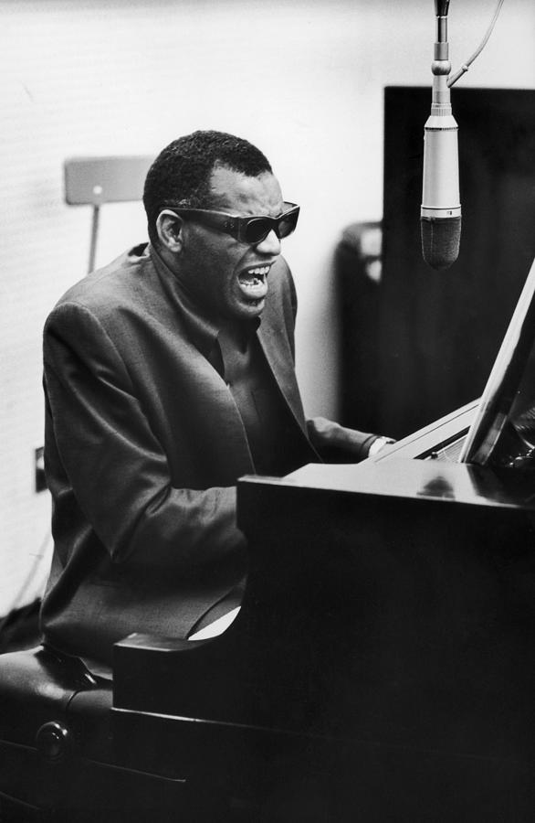 Ray Charles In La Photograph by Hulton Archive