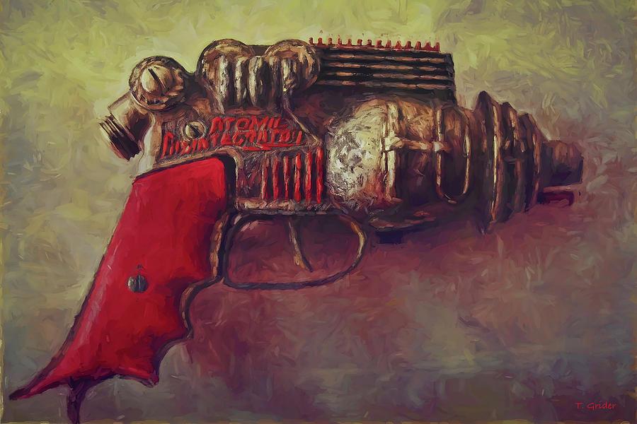 Ray Gun Van Gogh Inspired by TONY GRIDER