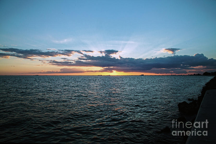 Sunset Photograph - Rays Of Light by Natural Focal Point Photography