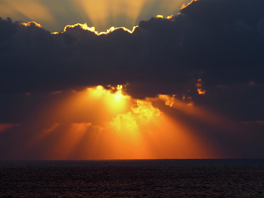 rays of light by Philip Openshaw