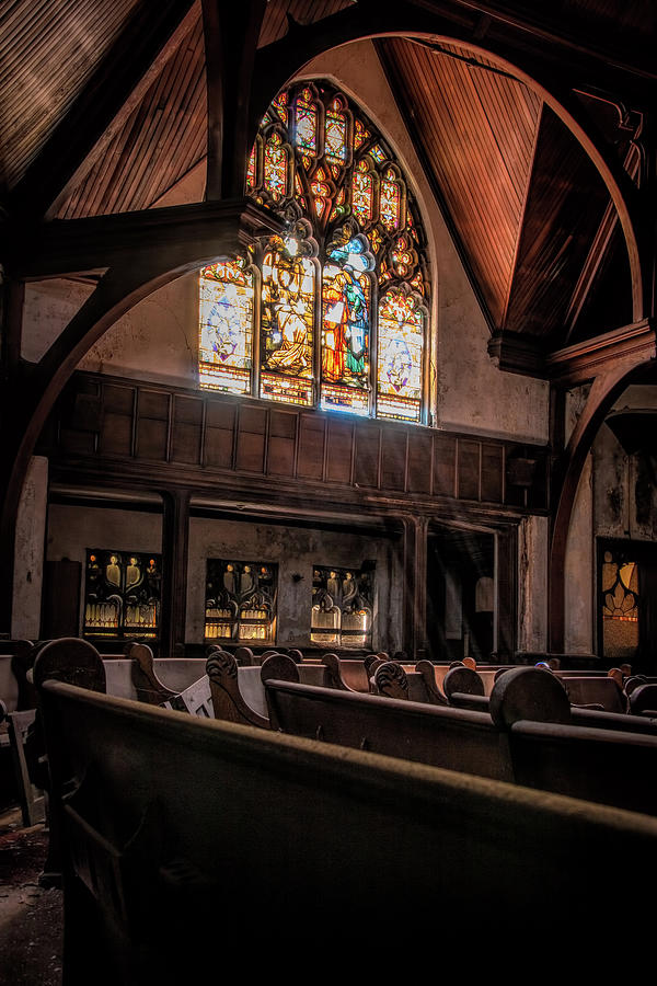 Rays Of Light Within The Sanctuary by Kristia Adams