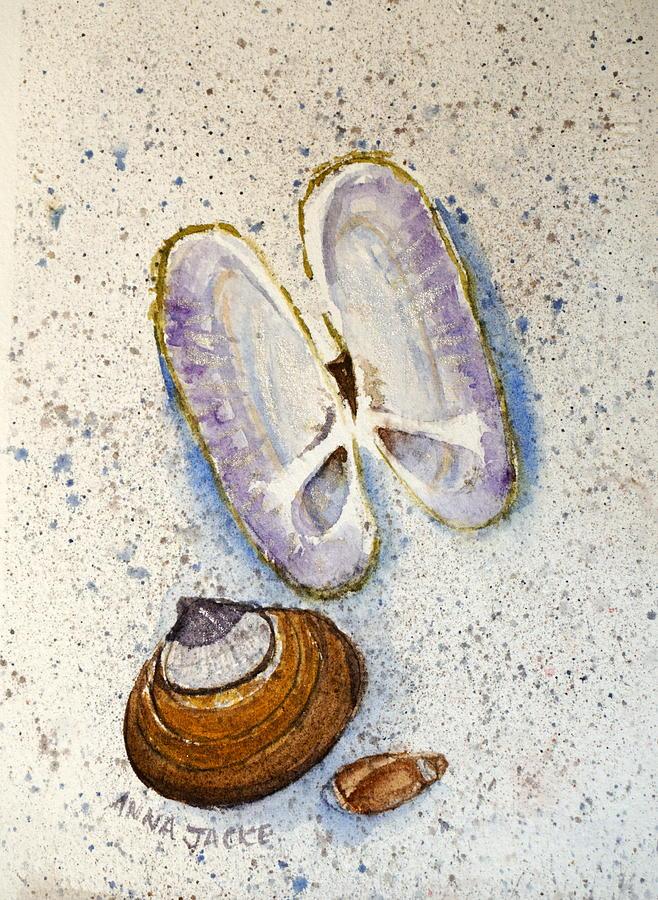 Razor Clams by Anna Jacke