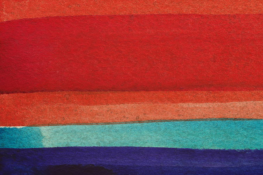 Bright Colors Painting - RBB by Stuart Peterman