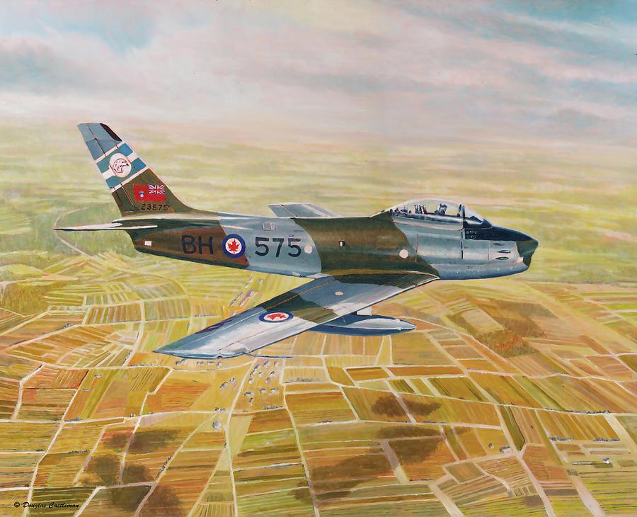 RCAF Sabre by Douglas Castleman