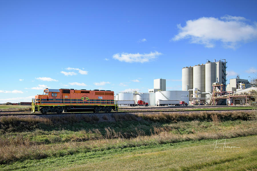 Railroad Photograph - Rcpe 2086 by Jim Thompson