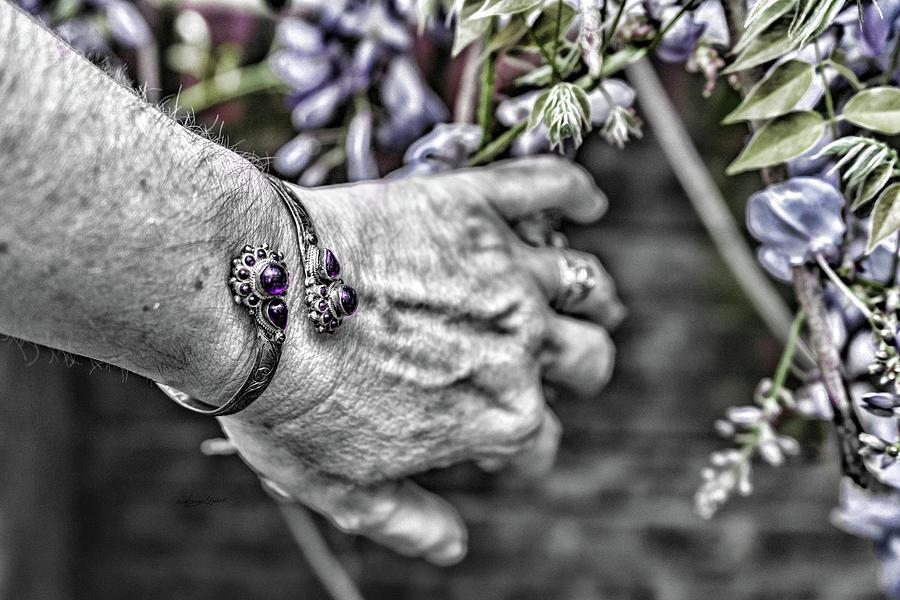 Reaching for Purple by Sharon Popek