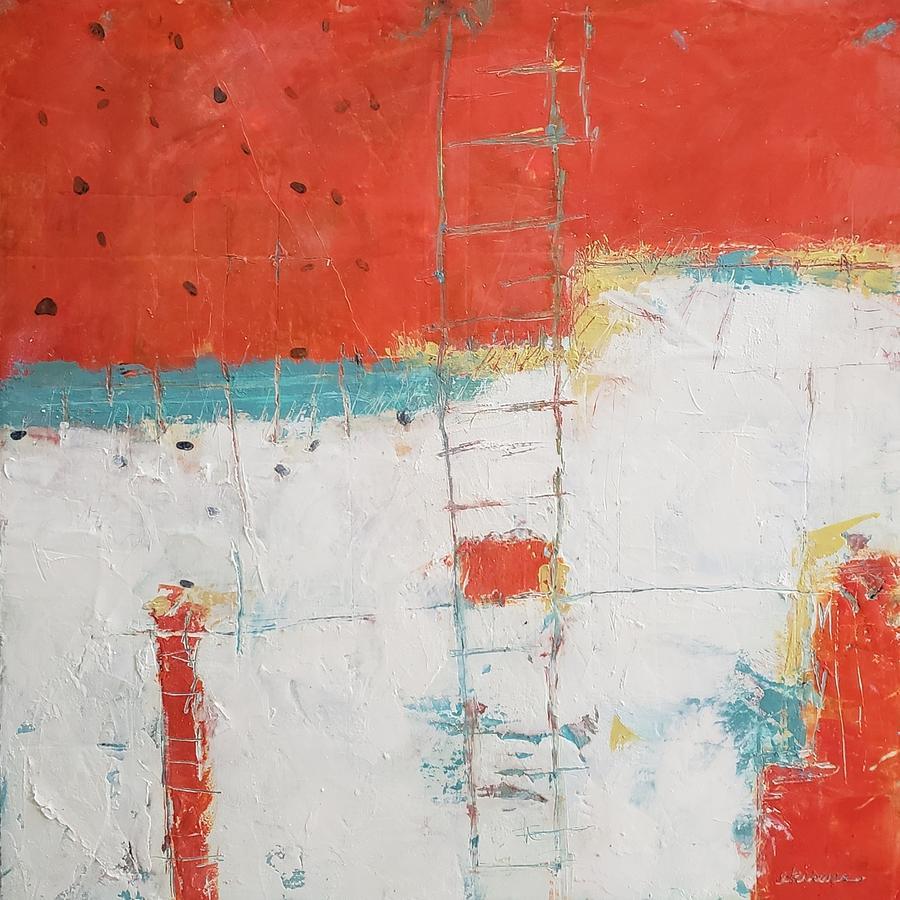 Reaching High Painting by Ellen Kirwan