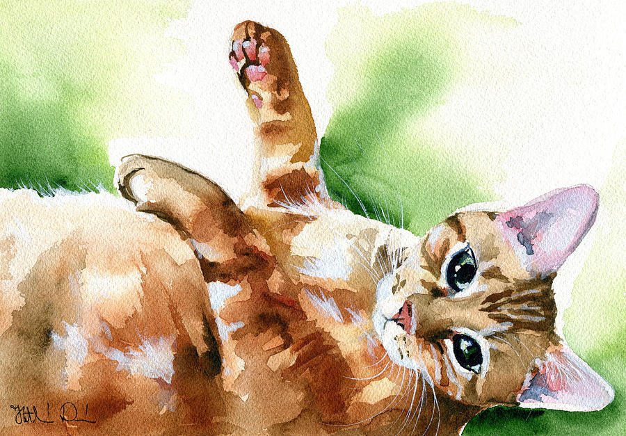 Ready For A Belly Rub by Dora Hathazi Mendes